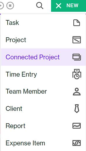 add a connected project