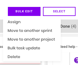 bulk edit