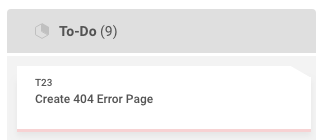error task