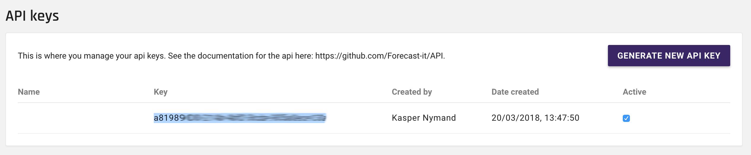 forecast_admin_copyAPIkeys