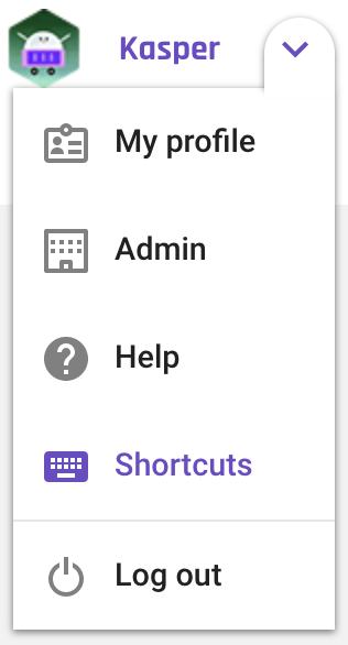 forecast_menu-shortcuts